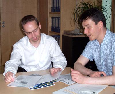 Carsten Guhr und Lorenz Becker